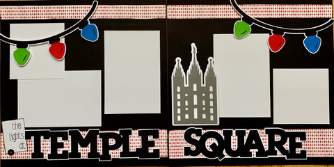 12x12 Premade Layout - The Lights at Temple Square