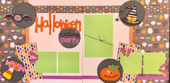 Halloween Costume Party - 12x12 Scrapbook Page Kit