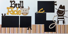12x12 Premade Layout - Bull Ride