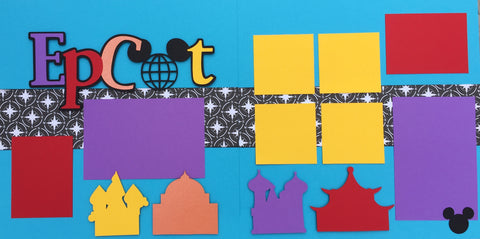 12x12 Premade Layout - Epcot