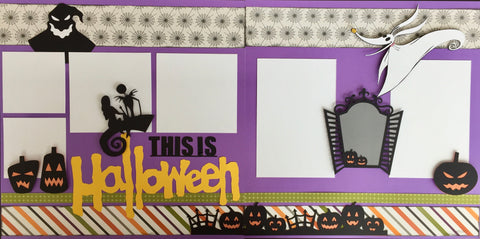 12x12 Premade Layout - This is Halloween