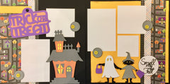 12x12 Premade Layout - Trick or Treat