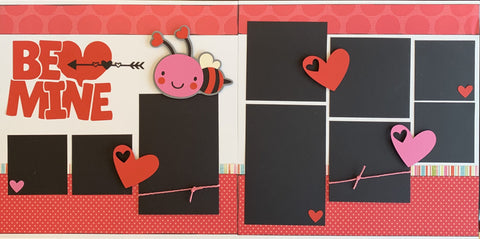 Be Mine - 12x12 Scrapbook Page Kit