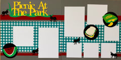 Picnic at the Park - 12x12 Scrapbook Page Kit