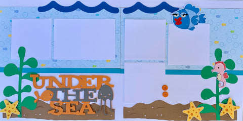 Under the Sea - 12x12 Scrapbook Page Kit