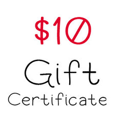 $10 Gift Certificate to My Scrapbook Zone