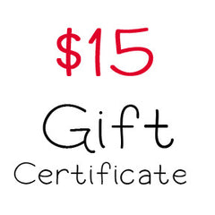 $15 Gift Certificate to My Scrapbook Zone