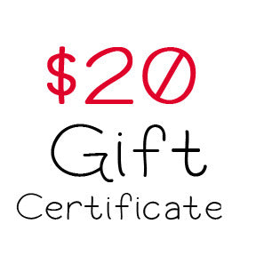 $20 Gift Certificate to My Scrapbook Zone