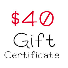 $40 Gift Certificate to My Scrapbook Zone