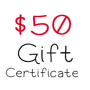 $50 Gift Certificate to My Scrapbook Zone