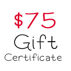 $75 Gift Certificate to My Scrapbook Zone