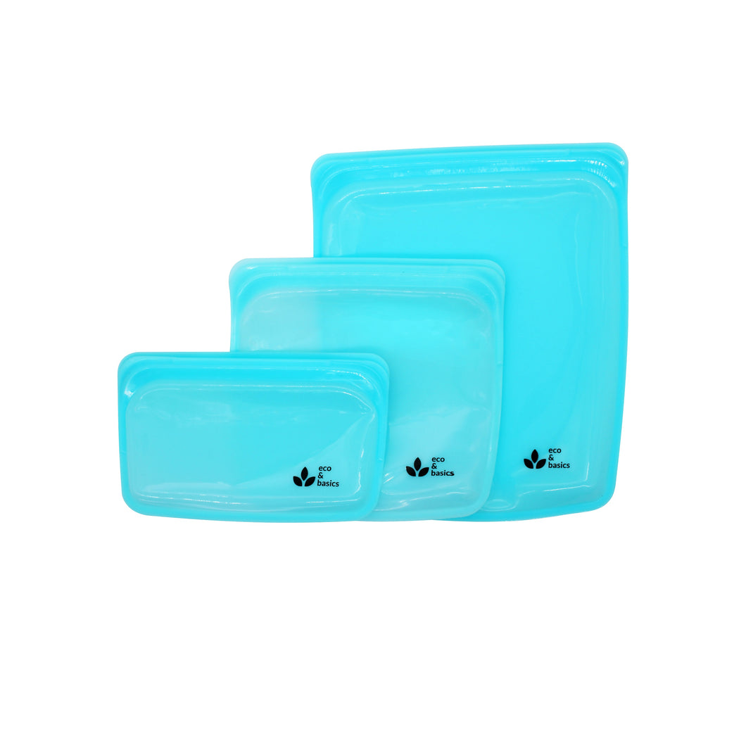 3 Pack Silicone Bag Bundle