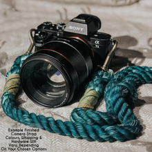 Load image into Gallery viewer, Daisy Soft Cotton Camera Strap