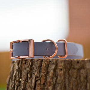 Dusty Rose Premium Waterproof Biothane Collar