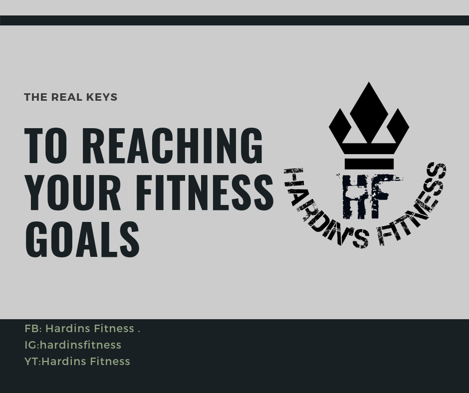 The REAL keys to Reaching Your Fitness Goals