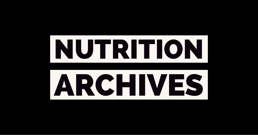 Nutrition Archives