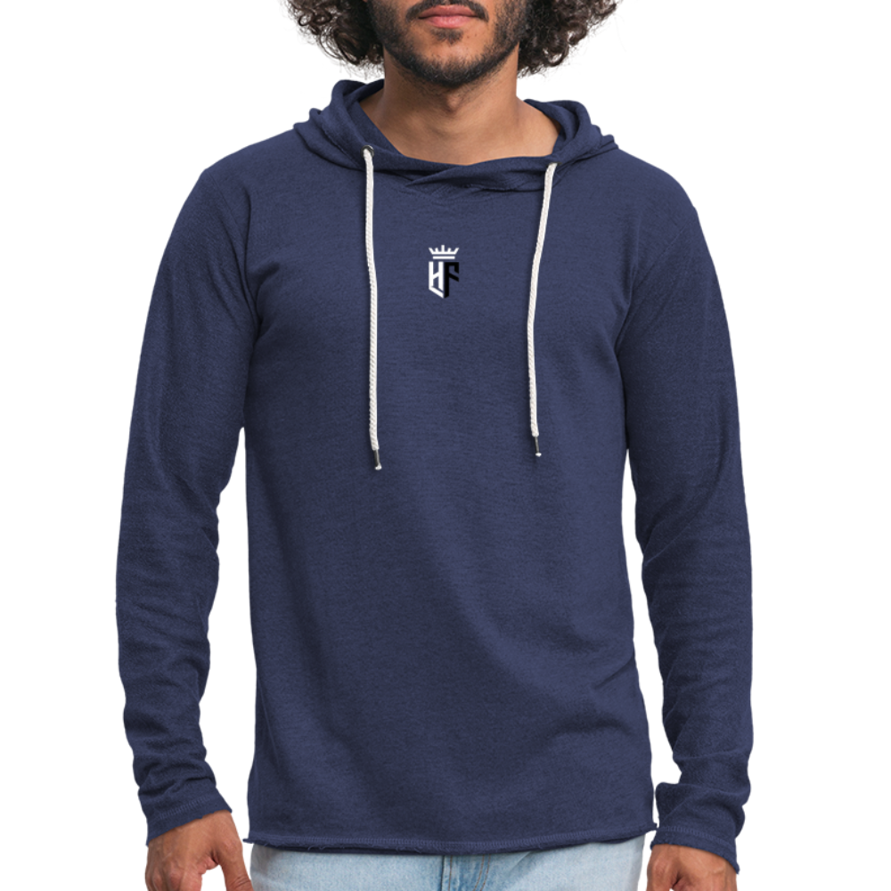 HF Vintage Hoody (Mens) - heather navy