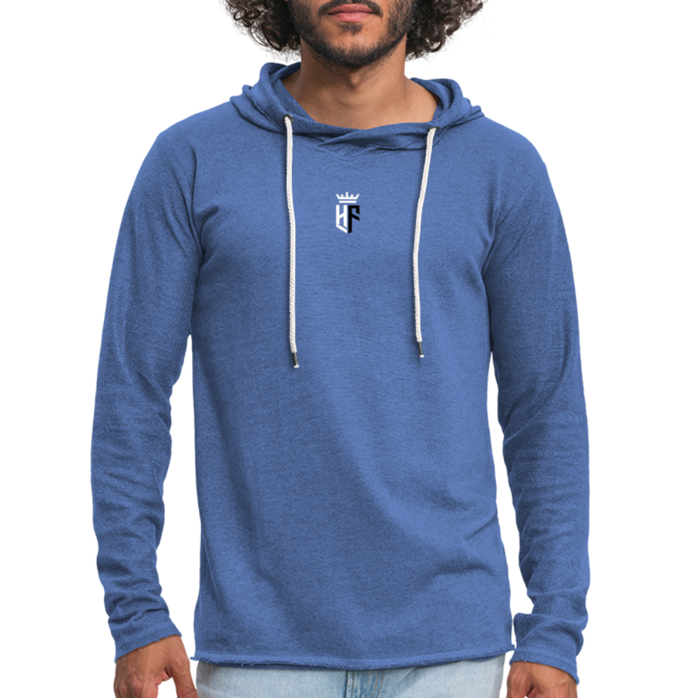 HF Vintage Hoody (Mens) - heather Blue