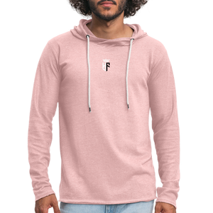 HF Vintage Hoody (Mens) - cream heather pink