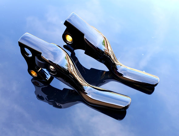 14-UP SPORTSTER Shorty Levers