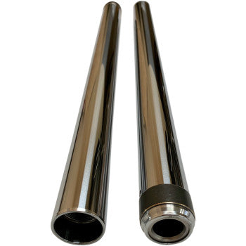 "Pro One 39mm Chrome Fork Tubes 26.25"" Length"