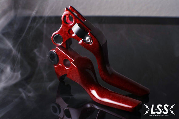 Smooth Shorty Levers (All 1996 - Early 2010's Harley Models)