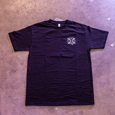 Wheelie Mtns Tee: BLACK