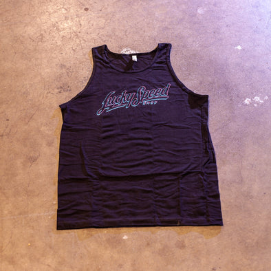 Lucky Speed Tank: Electric Blue Pink