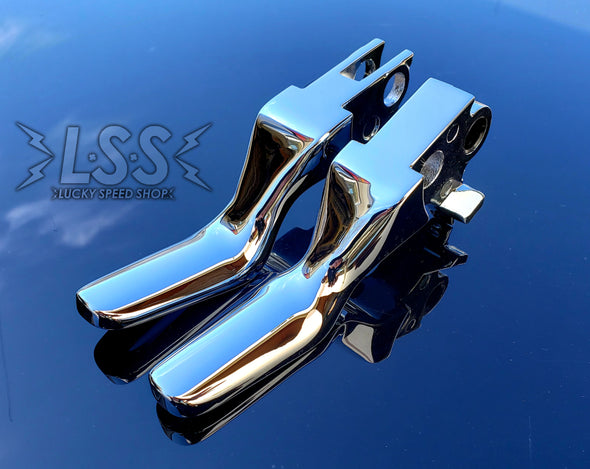 Chrome Shorty Levers - Limited Quantity (Triple Plate Chrome)