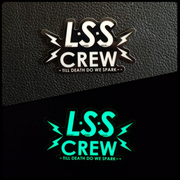 LUCKY SPEED SHOP STICKER 4 PACK (SOLD OUT)