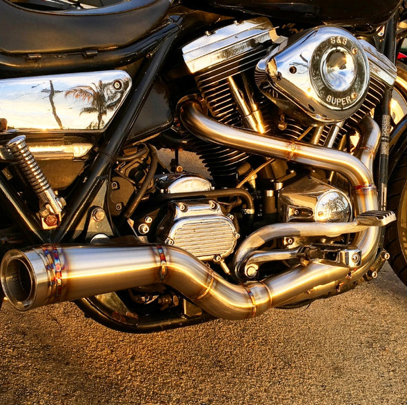 Royal-T Stepped FXR Exhaust