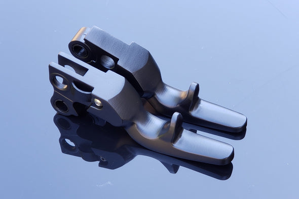 Trigger Shorty Levers (All 1996 - Early 2010's Harley Models)