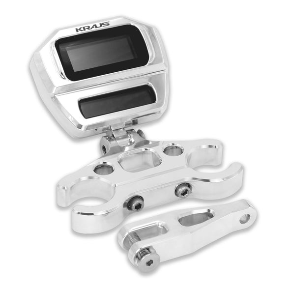 Kraus Softail Digital Gauge Mount