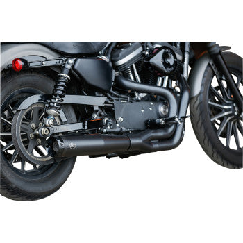 S&S SuperStreet 2:1 Exhaust System (SPORTSTER)