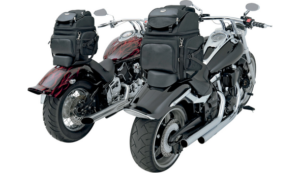 Saddlemen BR1800-3400 Backseat or Sissy Bar Bags