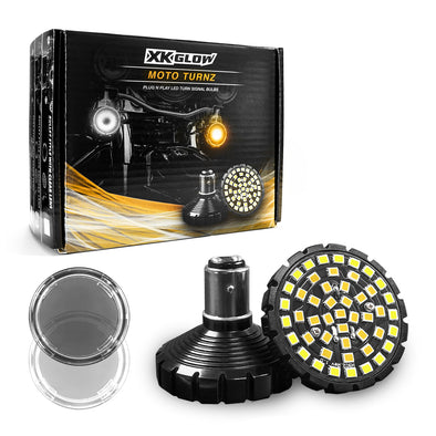 FRONT HALO LED TURN SIGNAL KIT 1157