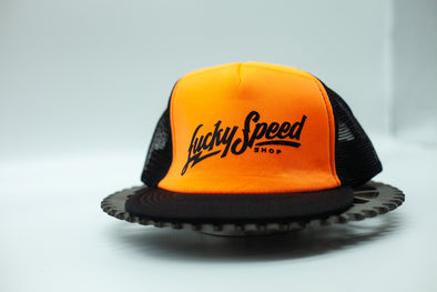 LSS Trucker Snapback: Hi-Vis ORANGE