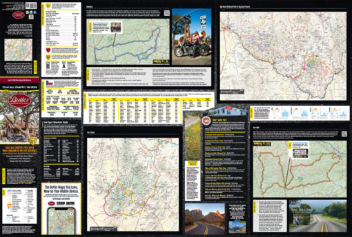 Butler Motorcycle Map (TEXAS HILL COUNTRY)