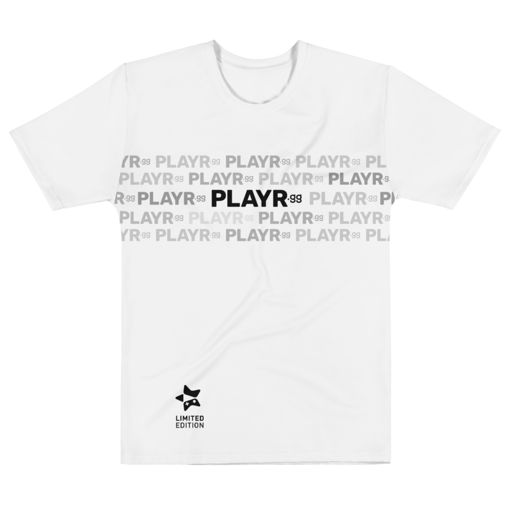 "PLAYR.gg Men's Limited Edition ""Star"" Logo T-shirt"