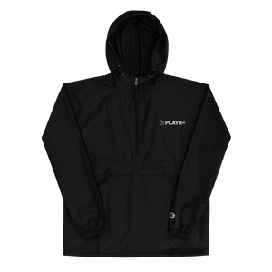 PLAYR.gg Embroidered Champion Packable Jacket