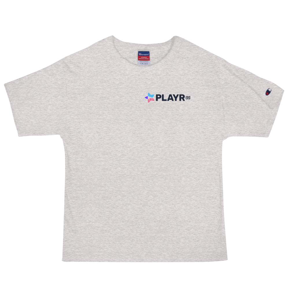 PLAYR.gg Embroidered Men's Champion T-Shirt