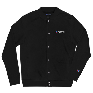 PLAYR.gg Men's Embroidered Champion Bomber Jacket