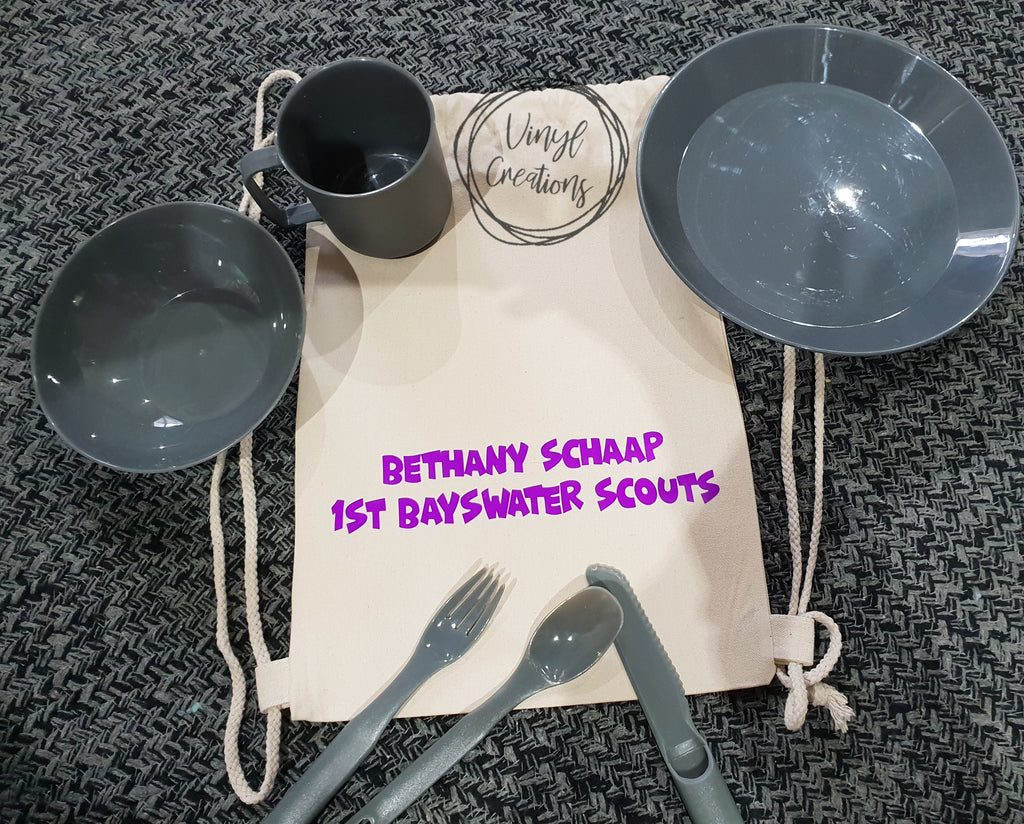 Scout Dilly Bag – Vinyl Creations by Joh