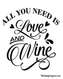 Wine Decals Vinyl Creations By Joh