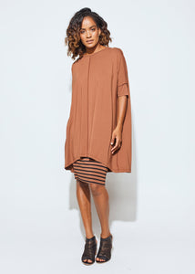 The Bardot Tunic | Blush