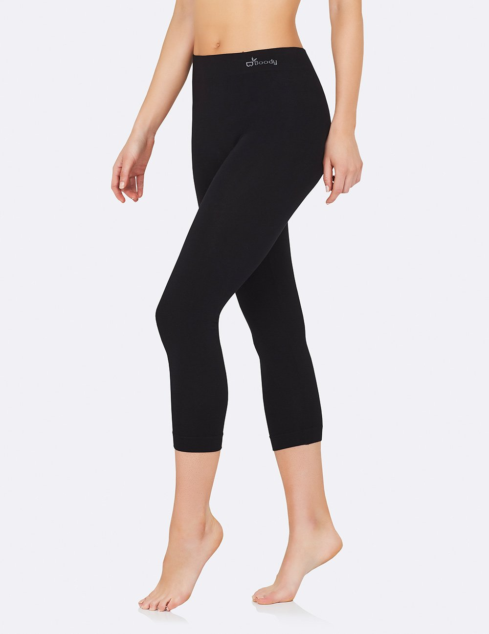3/4 Leggings | Black