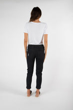 Load image into Gallery viewer, Finley Denim Jogger | Black