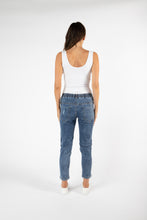 Load image into Gallery viewer, Finley Denim Jogger | Dark Blue