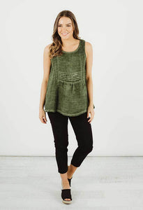 Tilly Top | khaki