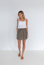 Load image into Gallery viewer, Georgie Skirt | Khaki